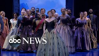Download Broadway's 'Frozen' cast performs 'For the First Time in Forever' Mp3 and Videos