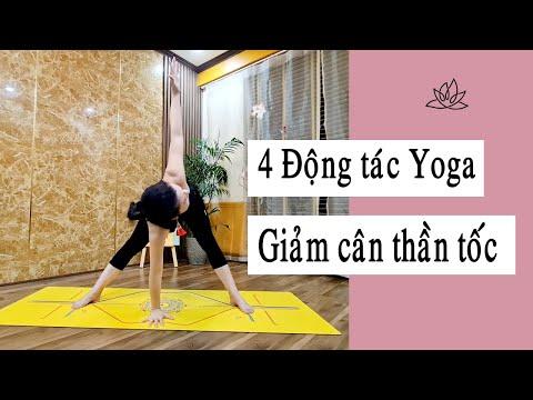 4 động tác Yoga giảm cân thần tốc _ Nguyễn Hiếu Yoga
