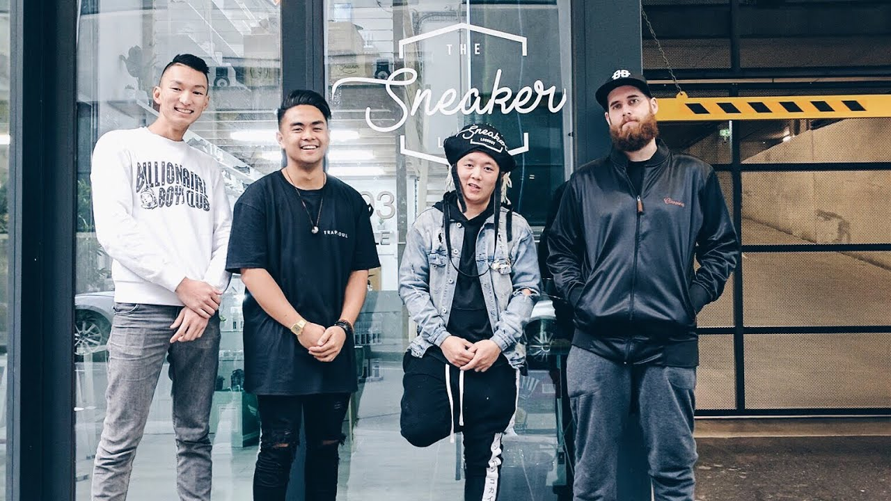 THE SNEAKER LAUNDRY GRAND OPENING - YouTube