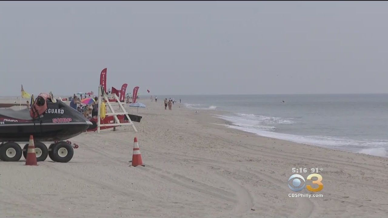 Seaside Heights Beaches Reopen After Being Closed Due To High Levels Of Bacteria In Water