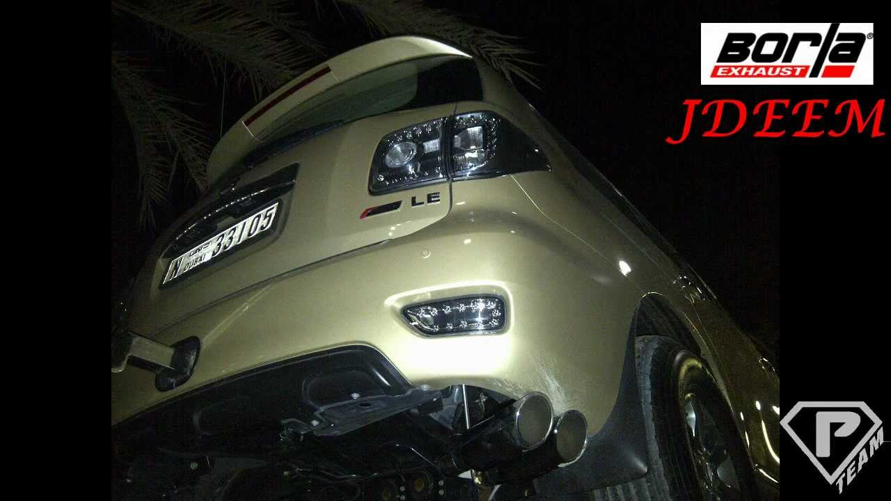 Borla Exhaust Nissan Patrol Y62 - YouTube