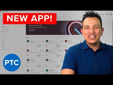 The NEW Adobe Creative Cloud Desktop App - More Power And Control
