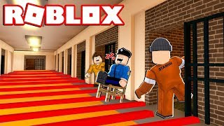 IMPE AND I ARE ESCAPING FROM PRISON IN ROBLOXAT! 🚨