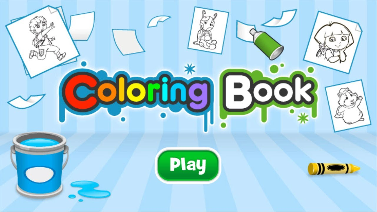nickelodeon coloring book subscribe youtube - Nickelodeon Coloring Book
