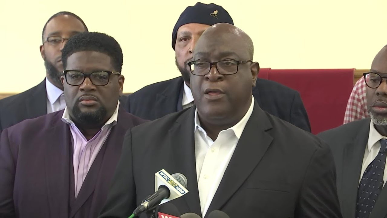 NEWS CONFERENCE: Clergy respond to body cam footage following officer-involved shooting