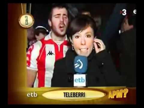 Aficionado del Bilbao se trinca a la reportera thumbnail