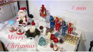 [크리스마스 브이로그]  맛있는 거 먹기 | 소품샵 구…