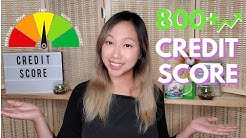 How to get an 800+ CREDIT SCORE