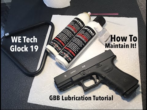 How to Lubricate your AIrsoft Glock 19 (Tutorial)