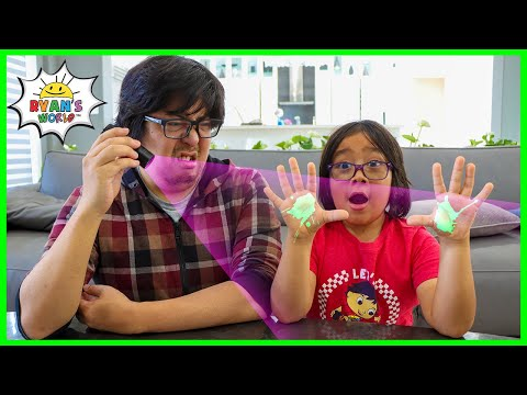 How to see Germs Spread Experiments and Wash your hands Healthy Tips!!!
