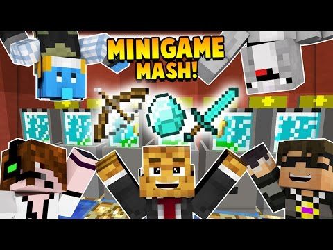 Team Crafted MINIGAME MASHUP - Minecraft