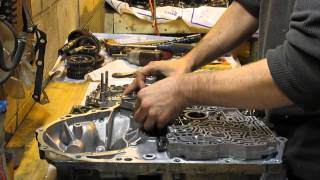 Assembly of 2001 Honda Accord Automatic Transmission Repair - BAXA 4 speed Repair/Rebuild