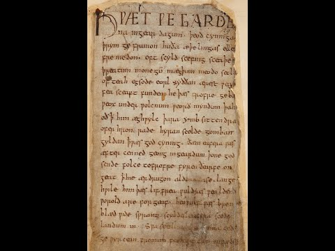 The Lay of Beowulf (old recording)