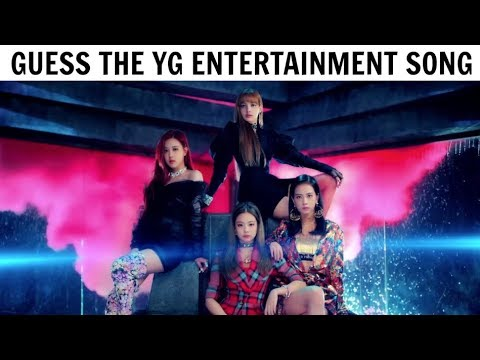 GUESS THE YG ENTERTAINMENT SONG BY THE FIRST 2 SECONDS