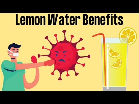 Health Benefits of Lemon Water | Healthy Living Tips