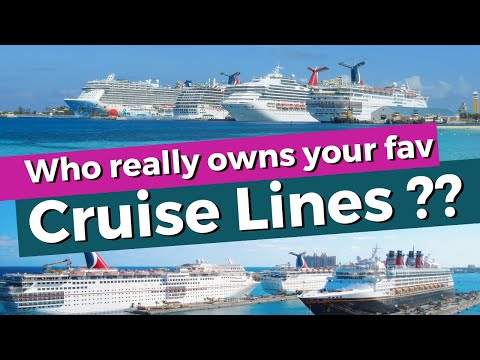 Who Really Owns And Operates Your Favourite Cruise Lines? Expect Surprises !