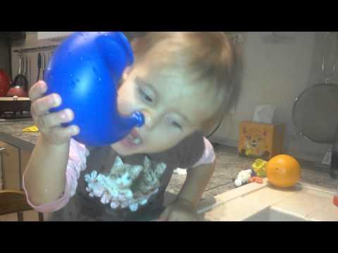 Как промывать нос ребенку в 2 года