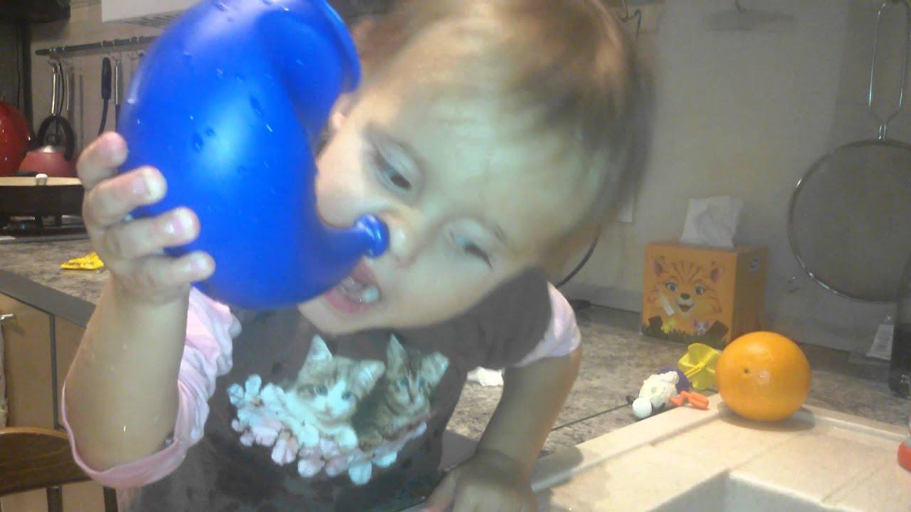 Физраствором промывать нос ребенку