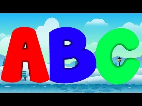Santa Alphabets   Learn ABC   Merry Christmas   Basic Education