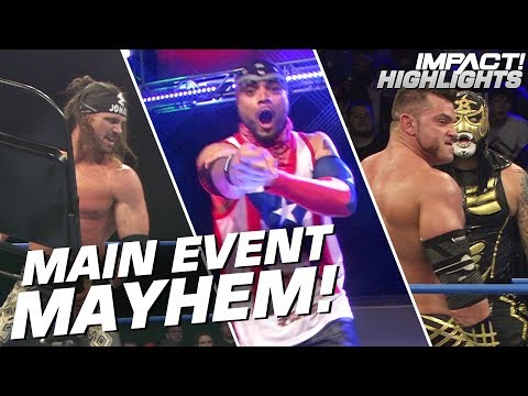 Johnny IMPACT & Lucha Bros vs Brian Cage & LAX   IMPACT! Highlights Apr 26, 2019