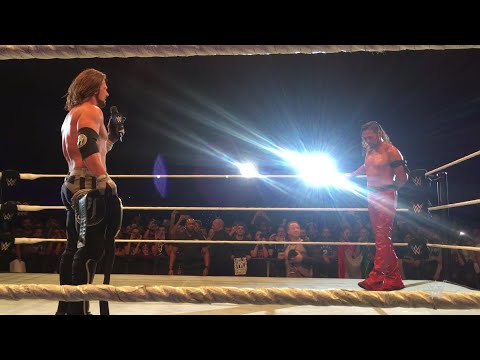 Florence, Italy wants to see Styles, Nakamura clash at WrestleMania
