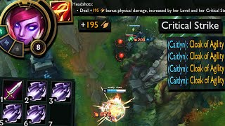 Caitlyn but this build I stole might just be stupid enough to work
