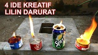 4 CARA MEMBUAT LILIN DARURAT | LIFE HACKS INDONESIA