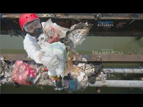 Bahaya! 500 Kg/Tahun Limbah Popok Cemari Sungai di Surabaya