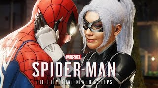 SPIDER-MAN PS4 - The City That Never Sleeps All Cutscenes (DLCS The Heist, Turf Wars, Silver Lining)