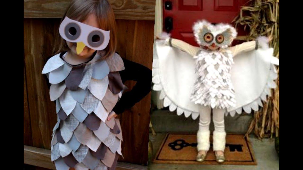 Asombroso disfraz de lechuza youtube - Disfraces de buhos ...
