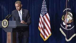 Obama reacts to wave of police shootings (Full speech)