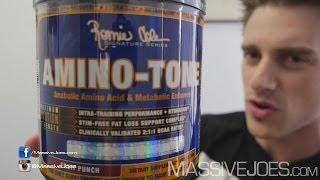 Ronnie Coleman RCSS Amino-Tone BCAA Supplement Review - MassiveJoes.com RAW REVIEW