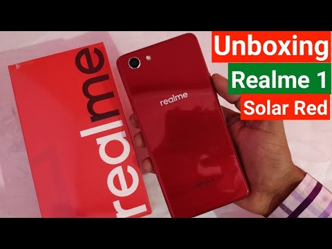 Oppo Realme 1 Solar Red 3GB Variant Unboxing & Review - Realme 1 - 동영상
