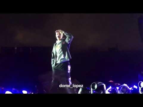 Justin Bieber-Get Used To It QUITO (Purpose Tour Ecuador 08/04/2017)