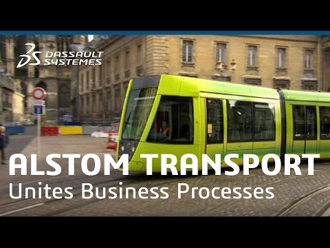 Alstom Transport - Unites Business Processes - Dassault Systèmes