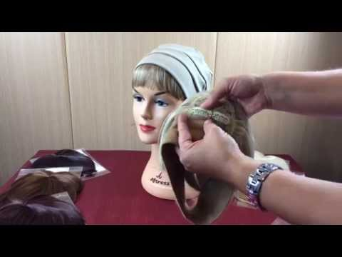 How to attached a Clip in Fringe to a headband - Ideal for Hair Loss  Patients c8fa437ee39