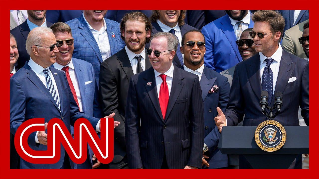 Tom Brady cracks joke about election denial at White House ...