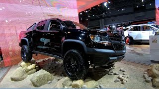 CHEVROLET COLORADO ZR2 PICK-UP NEW MODEL 2018 WALKAROUND
