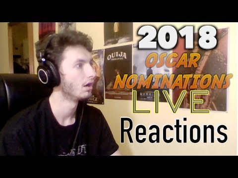 2018 Oscar Nominations LIVE Reactions!