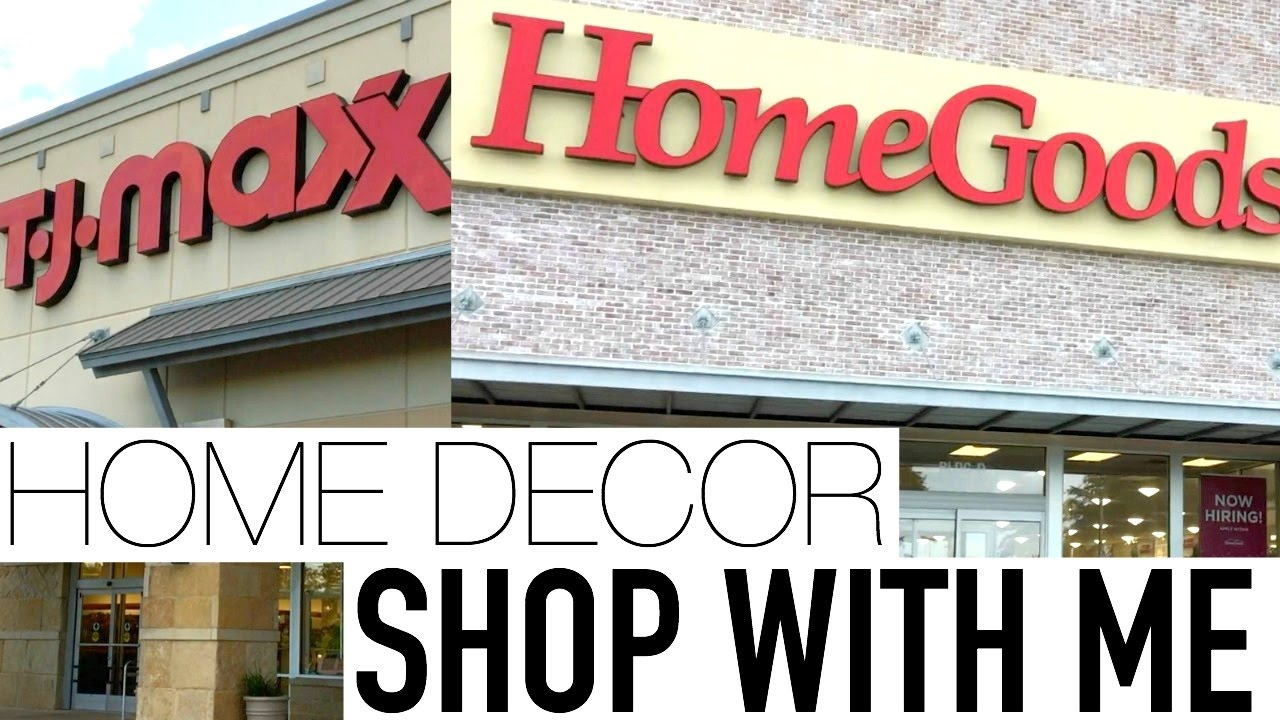 SHOP WITH ME AT TJMAXX HOMEGOODS SPRING HOME DECOR APRIL