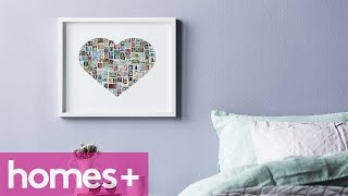 Diy Project: Stamp Artwork - Homes+