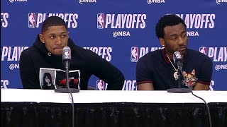 John Wall & Bradley Beal Postgame Interview | Raptors vs Wizards - Game 3 | 2018 NBA Playoffs