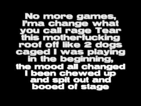 Lose Yourself- Eminem-Lyrics
