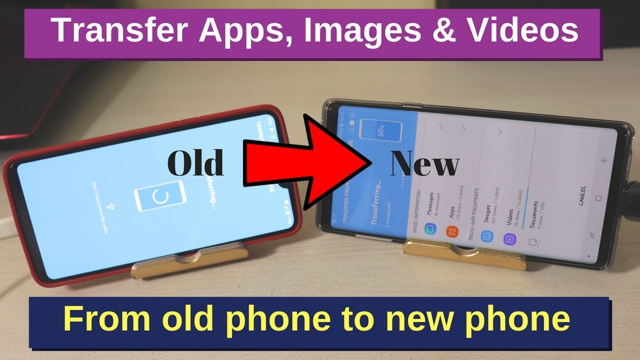 How to transfer Apps, Images, Videos from your Old phone to