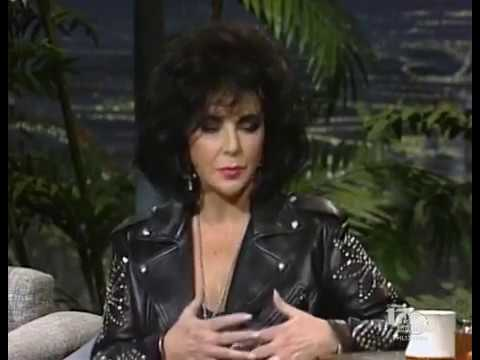 Elizabeth Taylor  on Johnny Carson 1992