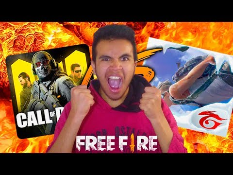 FREE FIRE VS CALL OF DUTY, Ustedes Deciden...