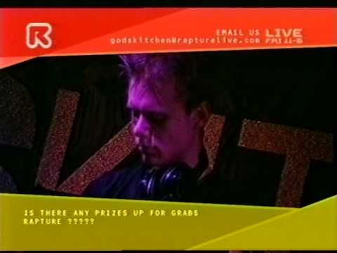 Ferry Corsten, Armin Van Buuren & Judge Jules live @ Godskitchen - Birmingham 2001 - Rapture TV