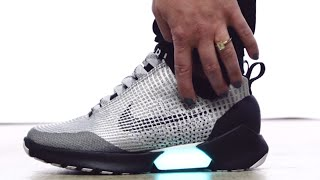 People Freak Over Nike's SELF-LACING SHOES | What's Trending Now