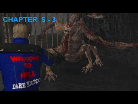 """Resident Evil 4 - Story (Welcome To Hell - """"Dark Edition"""") Mode - Chapter 5-3 (New Game - Pro) HQ"""