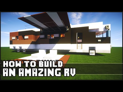 ► Minecraft : How to Make - Epic RV!